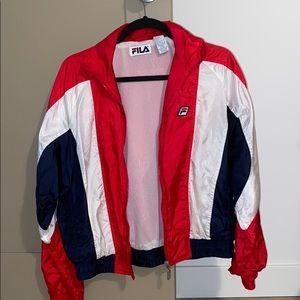 vintage fila jacket